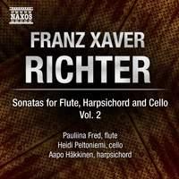 F X Richter: Sonatas for Flute, Harpsichord and Cello Volume 2