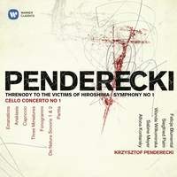 Penderecki: Threnody to the Victims of Hiroshima & Symphony No. 1