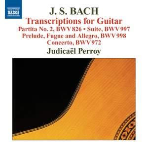 JS Bach: Transcriptions for Guitar