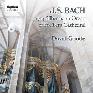 JS Bach: 1714 Silbermann Organ of Freiberg Cathedral Product Image