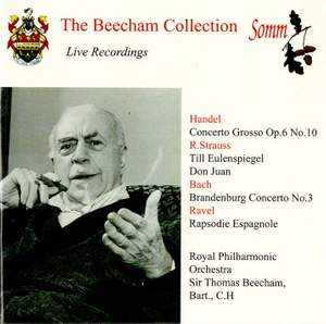 Beecham conducts Handel, Ravel & Strauss