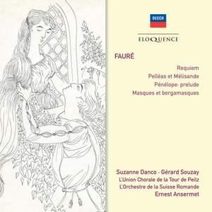 Fauré: Requiem & Orchestral works