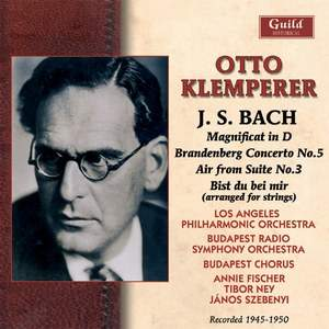 Klemperer conducts Bach