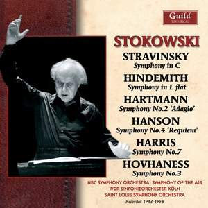 Stokowski conducts Stravinsky, Hindemith, Hartmann and others