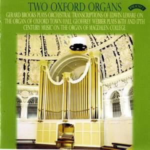 Two Oxford Organs