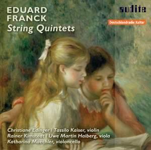 Eduard Franck: String Quintets