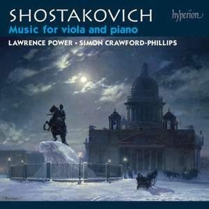 Shostakovich: Music for viola & piano