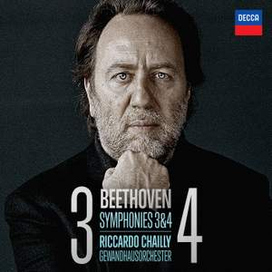 Beethoven: Symphonies Nos. 3 & 4