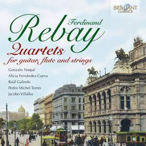 Ferdinand Rebay: Quartets for Guitar, Flute and Strings Product Image