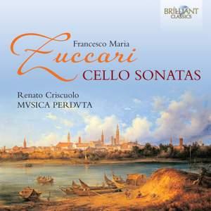 FM Zuccari: Cello Sonatas Product Image