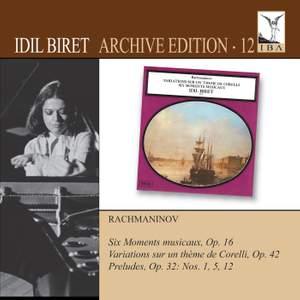 Idil Biret Archive Edition Volume 12 - Rachmaninov