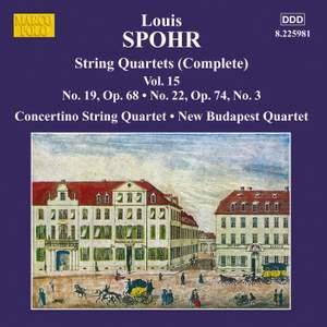 Louis Spohr: String Quartets, Volume 15