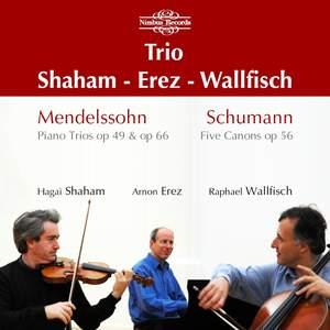 Mendelssohn: Piano Trios Nos. 1 & 2 Product Image