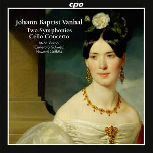 Vanhal: Two Symphonies & Cello Concerto Product Image