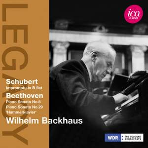 Wilhelm Backhaus plays Schubert & Beethoven Product Image