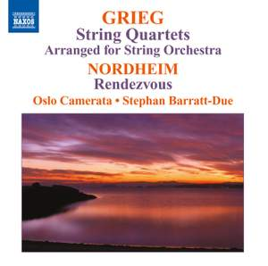 Grieg: String Quartets (arranged for String Orchestra) Product Image