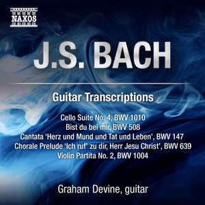 JS Bach: Guitar Transcriptions