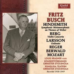 Fritz Busch in Stockholm - 1938-1949