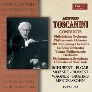 Arturo Toscanini conducts…