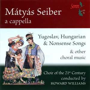 Mátyás Seiber a capella