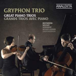 Gryphon Trio: Great Piano Trios Product Image