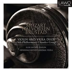 Mozart, Brustad & Halvorsen: Violin and Viola Duos Product Image