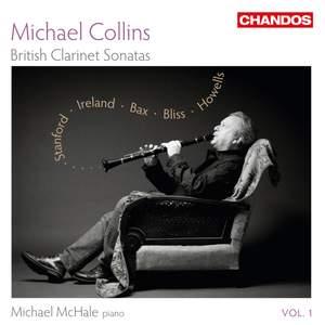 Michael Collins: British Clarinet Sonatas Volume 1 Product Image