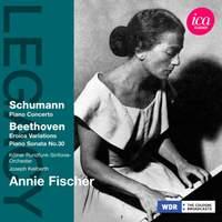 Annie Fischer plays Beethoven & Schumann