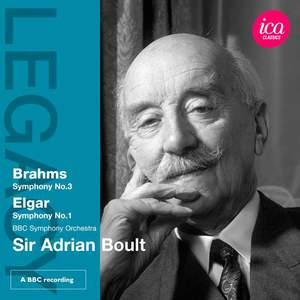Sir Adrian Boult conducts Brahms & Elgar