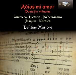 Adios mi amor: Duets for Vihuelas