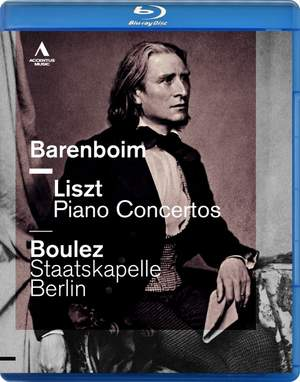 Daniel Barenboim plays Liszt Piano Concertos