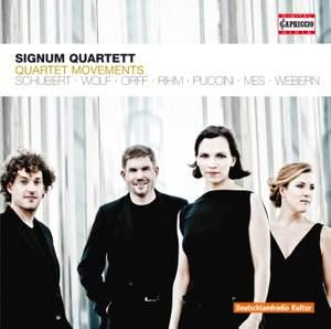 Signum Quartett: Quartet Movements
