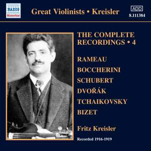 Kreisler: The Complete Recordings Volume 4