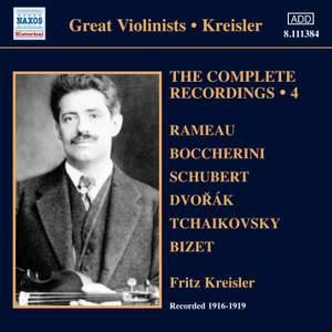 Kreisler: The Complete Recordings Volume 4