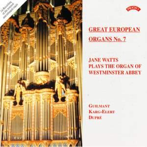 Great European Organs No. 7: Westminster Abbey