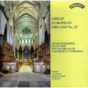 Great European Organs No. 23: Salisbury Cathedral