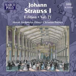 Johann Strauss I Edition, Volume 21