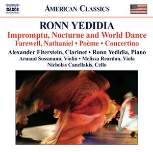 Ronn Yedidia: Impromptu, Nocturne and World Dance Product Image