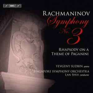 Rachmaninov: Symphony No. 3 & Rhapsody on a Theme of Paganini Product Image