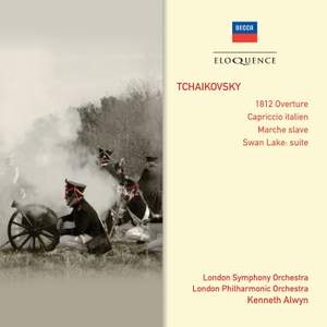 Tchaikovsky: 1812 Overture, Capriccio italien & Swan Lake Product Image