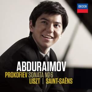Behzod Abduraimov plays Prokofiev, Liszt & Saint-Saëns Product Image