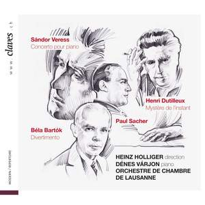 Veress, Bartók & Dutilleux: Works for Piano Product Image