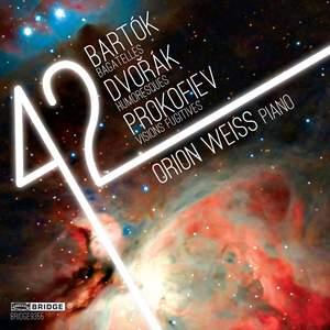 Orion Weiss plays Bartók, Prokofiev & Dvorak Product Image