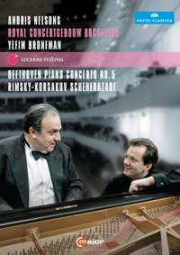 Andris Nelsons, Royal Concertgebouw Orchestra and Yefim Bronfman at the Lucerne Festival, 5th September 2011