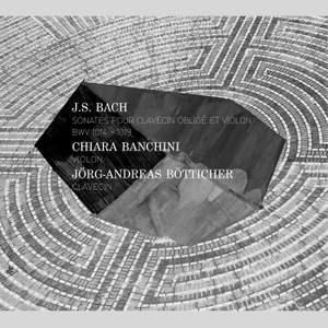 JS Bach: Sonatas for obbligato harpsichord and violin BWV 1014-1019