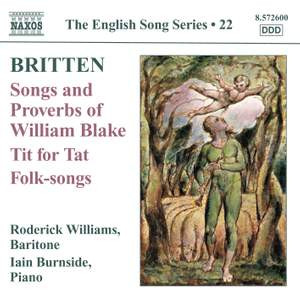 The English Song Series Volume 22 - Benjamin Britten Product Image