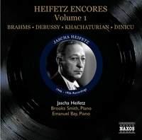 Heifetz Encores Volume 1