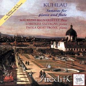 Kuhlau: Sonatas for Flute and Piano Vol. 2