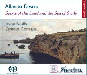 Alberto Favara: Songs of the Land and the Sea of Sicily