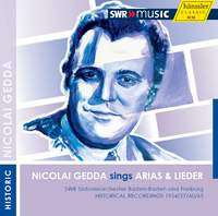 Nicolai Gedda sings Arias and Lieder